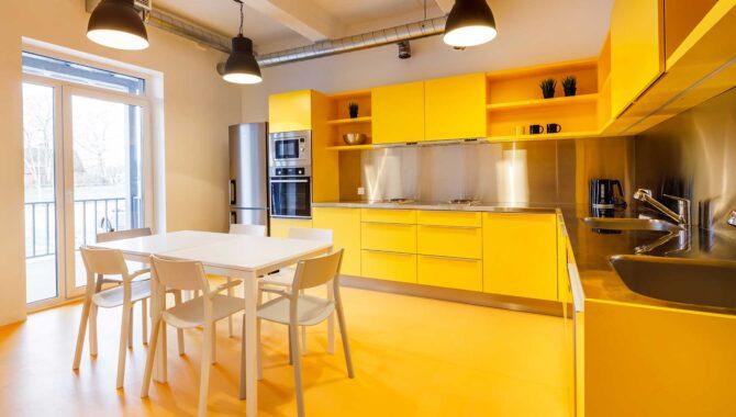Kitchenette in Hektor Design Hostel