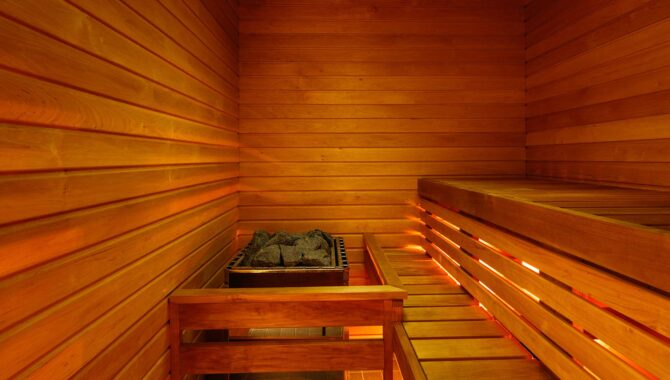 Sauna in Hektor Design Hostel Tartu