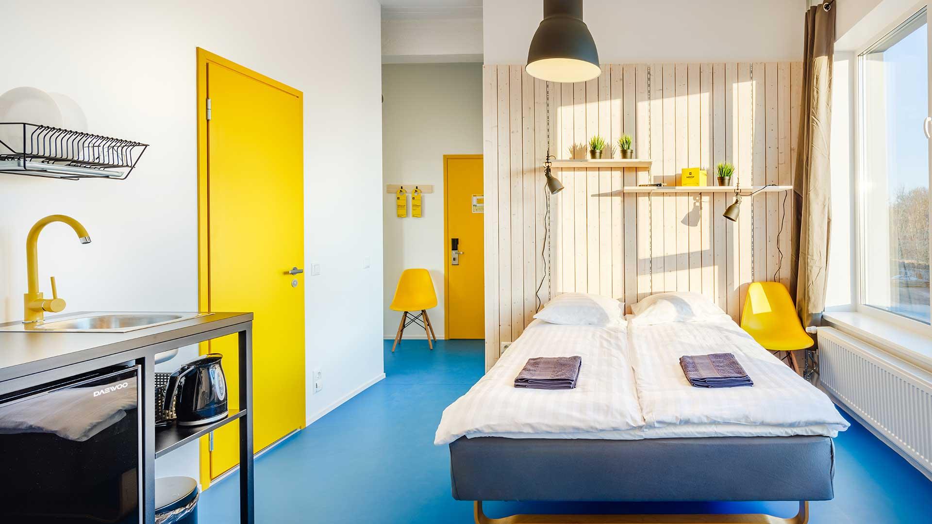 Hektor Design Hostel private room for 2 in Tartu