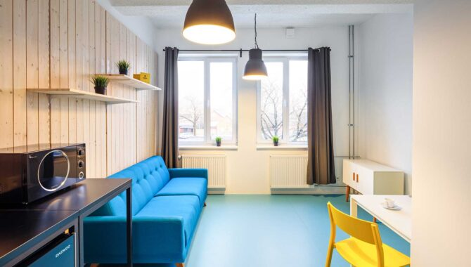 Hektor Design Hostel room