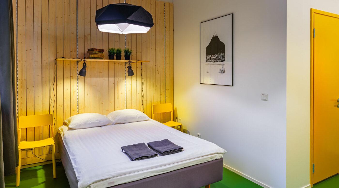 Accommodation in Tartu I Double room in Hektor Design Hostel